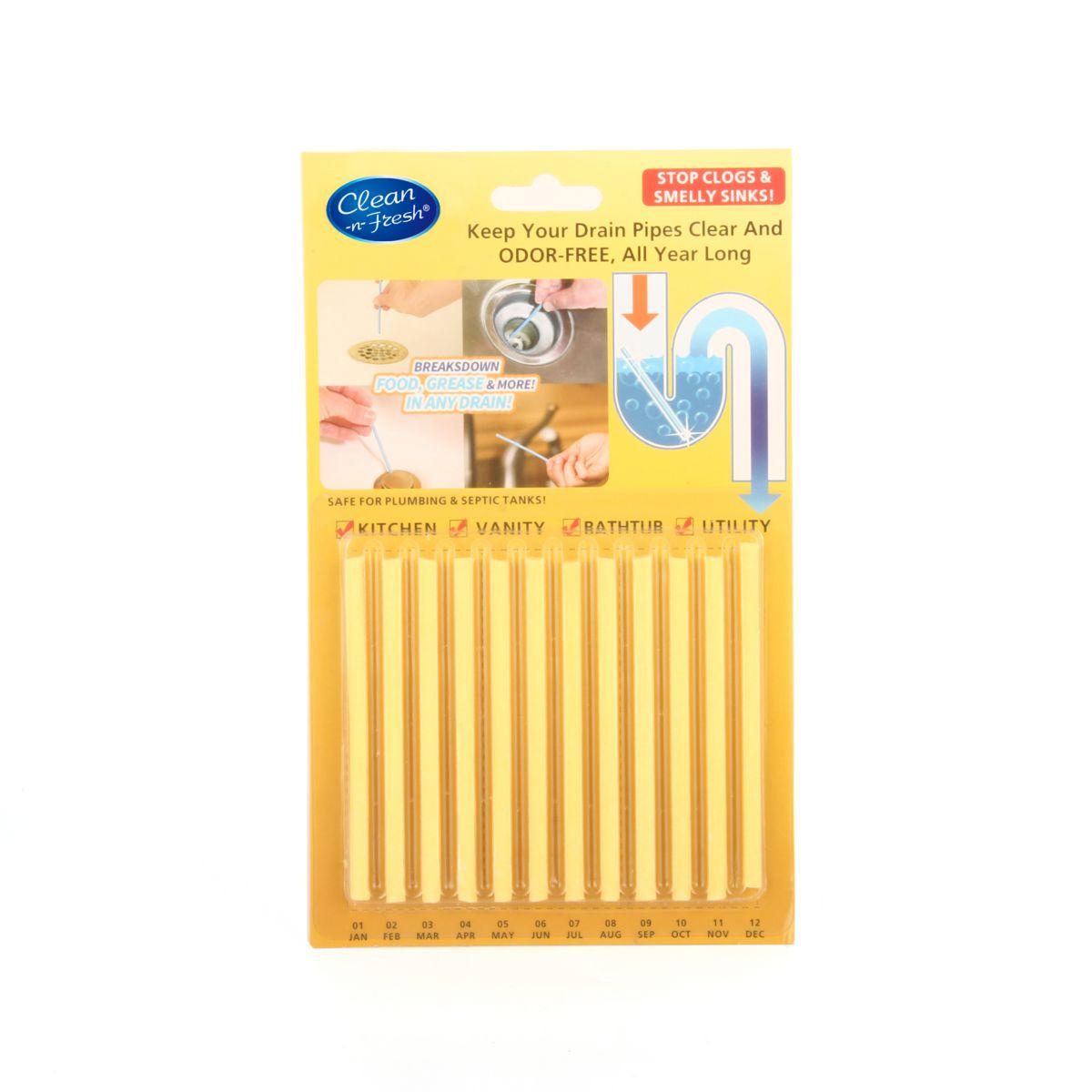 Drain Cleaner Sticks