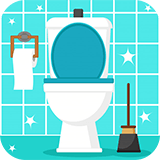 toilet cleaning logo